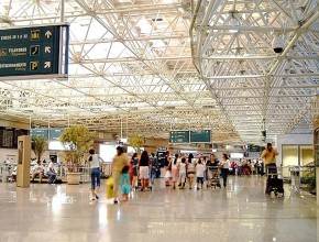 Departure hall Viracopos airport