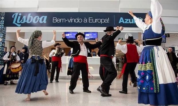 Rotas para Lisboa ocorrem nas quartas, sextas-feiras e domingos / Reprodução/Azul