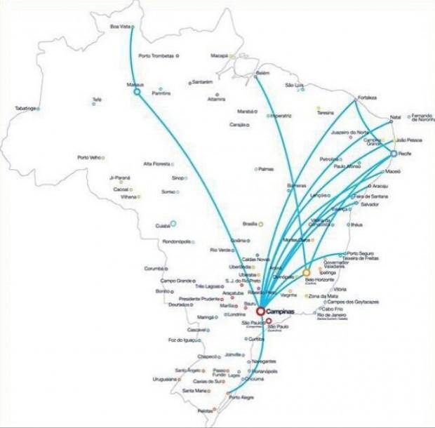 Frequências atenderão regiões Sul, Sudeste, Nordeste e Norte / Divulgação