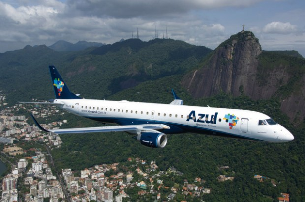 Novo voo substituiu o que era feito em Criciúma, pois, no aeroporto, não é possível pousar ou decolar com jatos Embraer