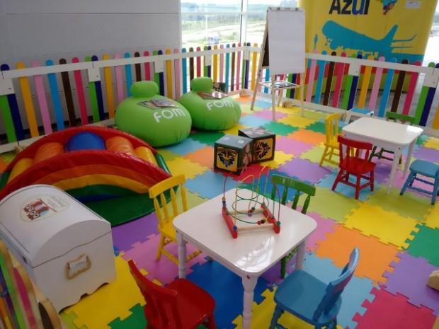 Ambiente exclusivo para crianças está instalado no Aeroporto Viracopos
